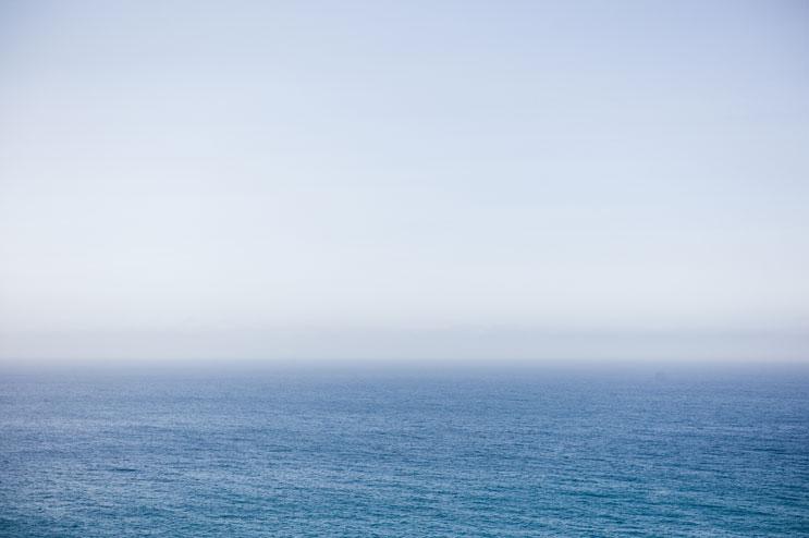 Sea and sky meet at the Pacific Coast of Big Sur, Calif., May 19, 2011.