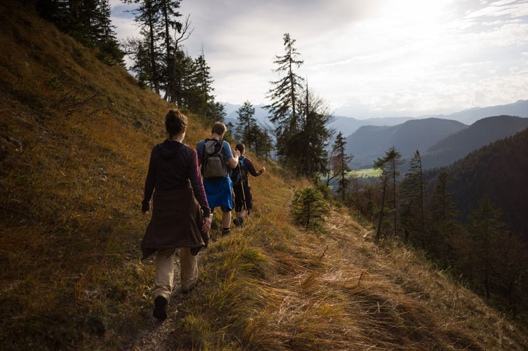 Latschenkopf trail, Jachenau, Bavaria