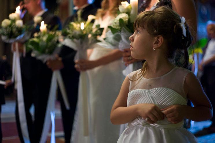 ^Impressions of Calin Ilea and Domnita Georgescu's wedding in Targu Mures, Romania, Saturday, July 7, 2012.