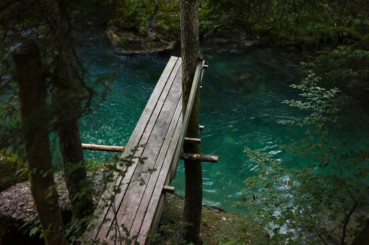 A makeshift-diving board is installed over a pool in the Mangfall river near Hohendilching, Sunday, September 9, 2012.